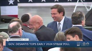 Gov. Ron DeSantis beats Trump in 2024 presidential straw poll