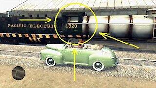 L.A. Noire - Strange glitch with a train #2