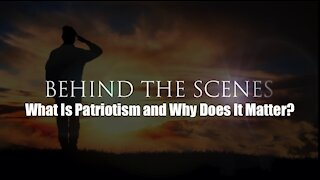 What is Patriotism and Why Does it Matter? /Curtis Bowers