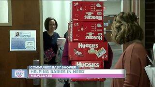Community Baby Shower: Helping babies in need in Milwaukee