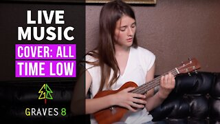 Young Girl covers Jon Bellion's 'All time Low' on Ukulele. Sydney-Anne from Graves8