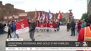 Patriotic parade held in downtown Omaha