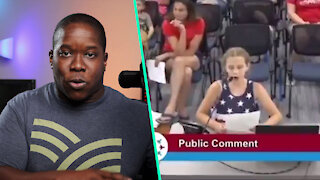School Board DESTROYED By 9-Year-Old Girl Over BLM Posters