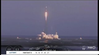 Space X plans first man space launch