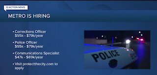 Las Vegas police hiring currently