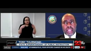 State Superintendent of Public Instruction supports distance learning