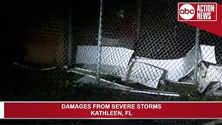 Severe weather damages Polk County
