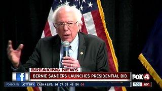 Bernie Sanders announces 2020 presidential bid