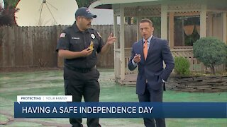 Celebrating the Fourth of July safely - Fireworks