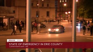 State of Emergency in Erie County, curfew set
