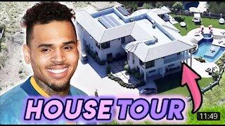 Chris brown house tour  $4.3 million smart house