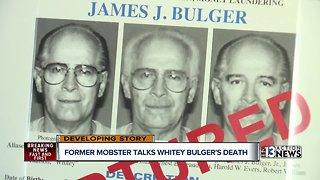 Former mobster Michael Franzese talks about Whitey Bulger death