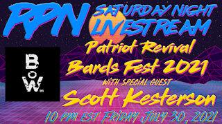 Bards of War with Scott Kesterson Returns on Fri. Night Livestream