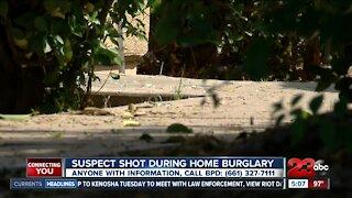 Suspect shot during Bakersfield home burglary