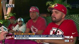 Opening Night at Marlins Park