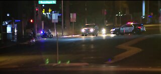 Vegas police investigate fatal hit-and-run crash on Flamingo Road