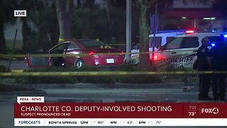 Charlotte County deputy involved shooting