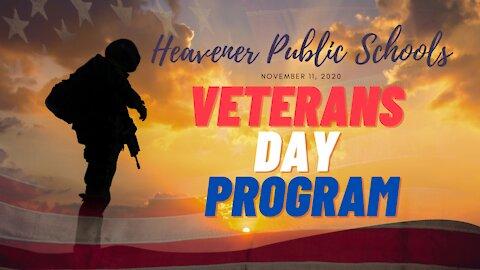 Heavener Veterans Day 2020