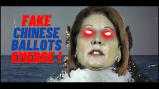 SIDNEY POWELL Evidence of FAKE Chinese ballots EMERGE !!