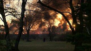 Fire danger in Wisconsin