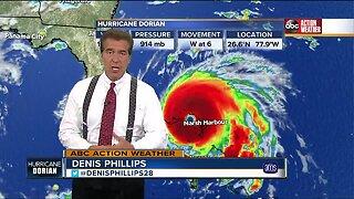 Hurricane Dorian makes landfall on Grand Bahama Island, still category 5 storm