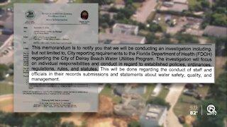 Inspector general investigates Delray Beach water concerns