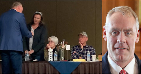 US House Candidate Ryan Zinke Wags Finger At Flathead Woman Probing Vote Record