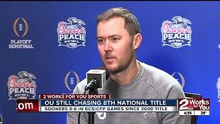 Lincoln Riley Talks Getting CFP Win