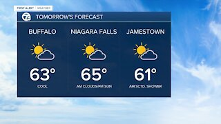 7 First Alert Forecast 11 p.m. Update, Monday, June 21