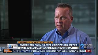 Davis defends actions in interview since IRB