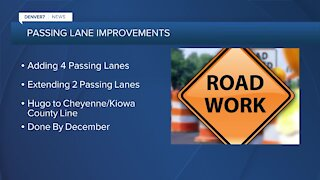 New passing lanes coming on eastern plains