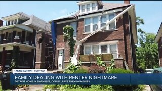 Family dealing with renter nightmare