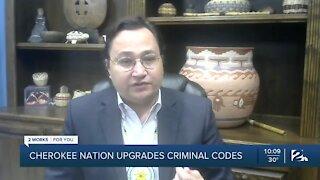 Cherokee Nation upgrades criminal codes