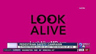 Pedestrian safety campaign