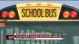 Tulsa Public Schools Bus Driver Arrested