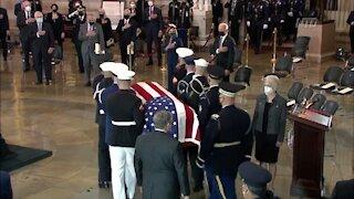 Biden Pays Tribute to Fallen Capitol Officer