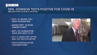 Senator Ron Johnson tests positive for coronavirus