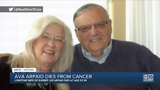Ava Arpaio, wife of former MCSO Sheriff Joe Arpaio, dies after battle with cancer