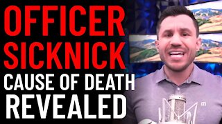 Officer Brian Sicknick Cause of Death Revealed