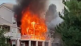 Two injured in Lone Tree townhome fire