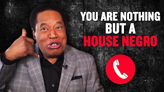 """Hate Calls to Larry Elder: """"You Are Nothing But a House Negro""""   Larry Elder"""
