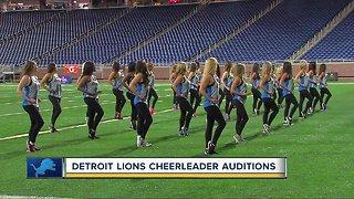 Detroit Lions Cheerleader Tryouts