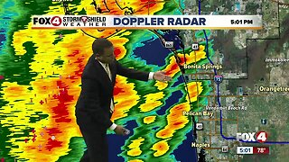 Storms move through Southwest Florida