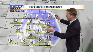 Warmer Thursday with chance of p.m. flurries