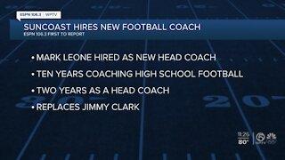 Suncoast football names new Head Coach