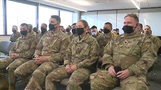 Colorado National Guard members depart to Washington D.C. ahead of Inauguration Day