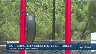 Cape Coral City Council members discuss reopening parks
