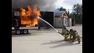 New Hampshire Firefighters Promote Holiday Safety
