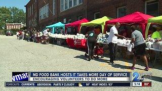 Maryland Food Bank encouraging volunteers to do more