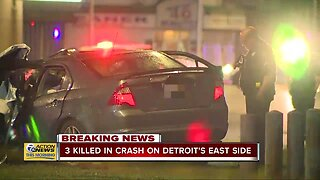 3 killed in accident on Detroit's east side